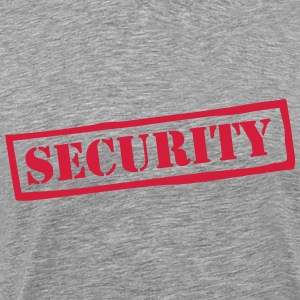 Security Muscle Penguin T-shirts - Herre premium T-shirt