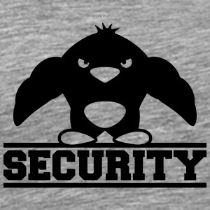 Security Logo Design T-shirts - Herre premium T-shirt