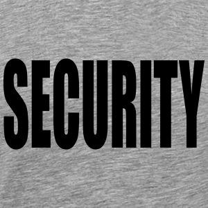 Security Graffiti Logo T-shirts - Herre premium T-shirt