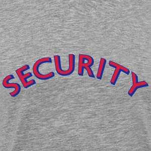 Security Arc Design T-shirts - Mannen Premium T-shirt