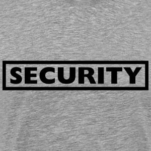 Security Design T-shirts - Mannen Premium T-shirt