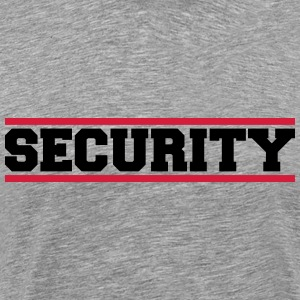 Security T-shirts - Mannen Premium T-shirt