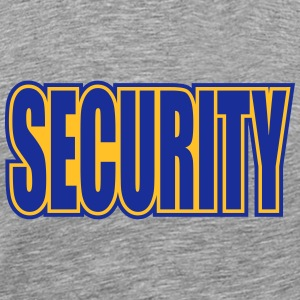 Cool Security Logo T-shirts - Herre premium T-shirt