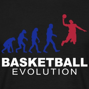 Basketball evolution Tee shirts - T-shirt Homme