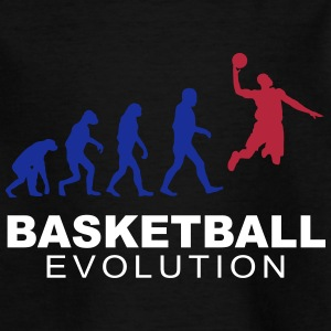 Basketball evolution T-Shirts - Kinder T-Shirt