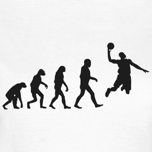 Basketball evolution logo Tee shirts - T-shirt Femme