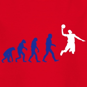 Basketball evolution logo T-Shirts - Kinder T-Shirt