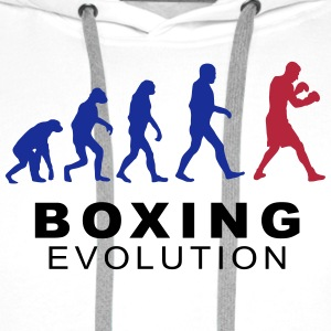 Boxing evolution Hoodies & Sweatshirts - Men's Premium Hoodie