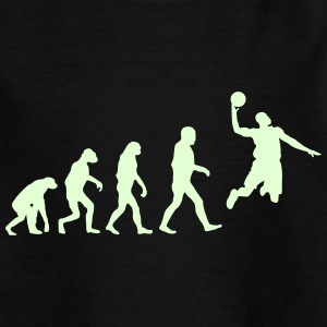 Basketball evolution logo Tee shirts - T-shirt Enfant
