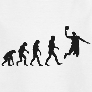 Basketball evolution logo Shirts - Kids' T-Shirt