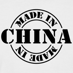 made_in_china_m1 Tee shirts - T-shirt baseball manches courtes Homme