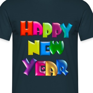 Happy New Year T-Shirt - Men's T-Shirt