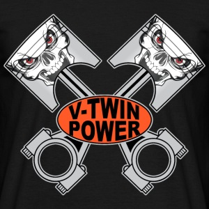v-twin skulls T-Shirts - Men's T-Shirt