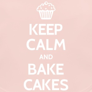 Keep calm and bake cakes Accessoires - Baby Bio-Lätzchen