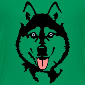 Husky - Teenager Premium T-Shirt