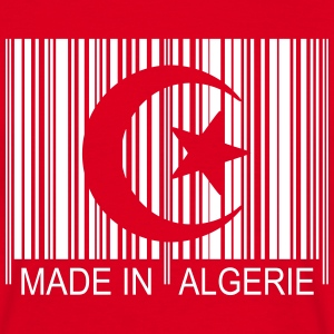 Code barre Made in ALGERIE 1c T-Shirts - Männer T-Shirt