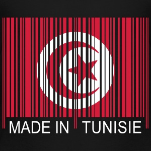 Code barre Made in TUNISIE Tee shirts - T-shirt Premium Ado