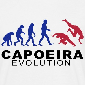 Capoeira Evolution  T-Shirts - Men's T-Shirt