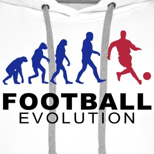 Football Evolution Hoodies & Sweatshirts - Men's Premium Hoodie