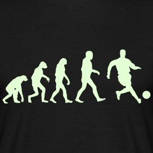 Football Evolution logo T-Shirts - Men's T-Shirt