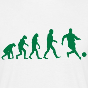 Football Evolution logo Tee shirts - T-shirt Homme