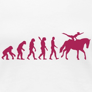 Evolution Voltigieren T-Shirts - Frauen Premium T-Shirt