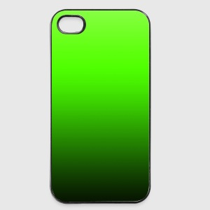 color background pattern black green your text Phone & Tablet Cases - iPhone 4/4s Hard Case