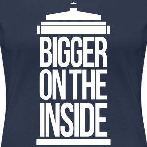 Bigger on the inside T-Shirts - Women's Premium T-Shirt