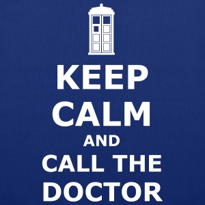 Keep calm and call the doctor Taschen & Rucksäcke - Stoffbeutel