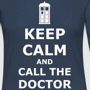 Keep calm and call the doctor Shirts met lange mouwen - Vrouwen Premium shirt met lange mouwen