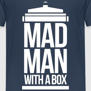 Mad man with a box Shirts - Kinderen Premium T-shirt