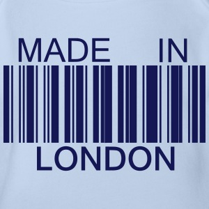 Made in London Tee shirts - Body bébé bio manches courtes