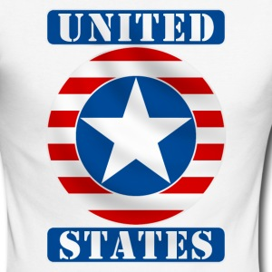 United States Long sleeve shirts - Men's Long Sleeve Baseball T-Shirt