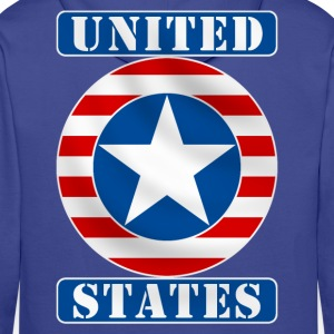 United States Hoodies & Sweatshirts - Men's Premium Hoodie
