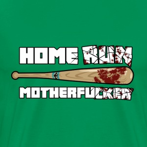Home Run Motherf***er by David Poplawski - Maglietta Premium da uomo