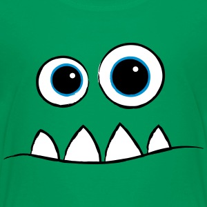 Monster Face T-Shirt - Kinder Premium T-Shirt