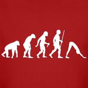Evolution Yoga T-Shirts - Men's Organic T-shirt