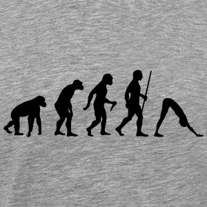 Evolution Yoga T-shirts - Mannen Premium T-shirt