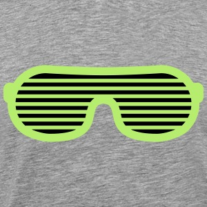 Party Glasses T-shirts - Herre premium T-shirt