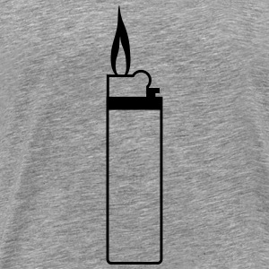 Lighter Design T-shirts - Herre premium T-shirt