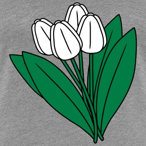 Tulips T-Shirts - Frauen Premium T-Shirt