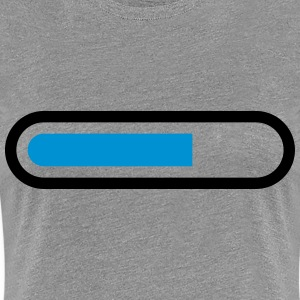 Loading Bar T-shirts - Vrouwen Premium T-shirt