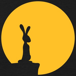 Bunny And Moon T-shirts - Mannen T-shirt