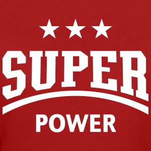 Super Power (Sport) Frauen Bio-T-Shirt - Frauen Bio-T-Shirt