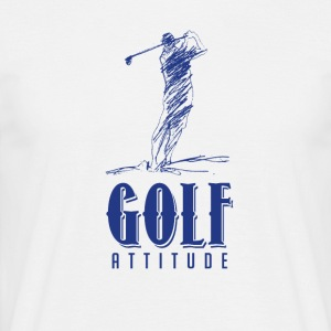 Golf attitude - T-shirt Homme
