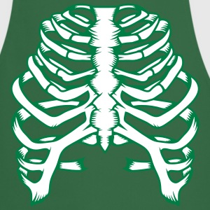 A skeleton of a human thorax  Aprons - Cooking Apron