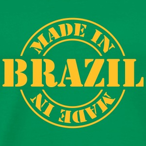 made_in_brazil_m1 T-Shirts - Men's Premium T-Shirt