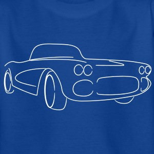 Oldtimer Cabrio Roadster Tribal - Teenager T-Shirt