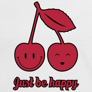 Just Be Happy Tee shirts - T-shirt contraste Femme