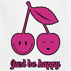 Just Be Happy Shirts - Kids' T-Shirt